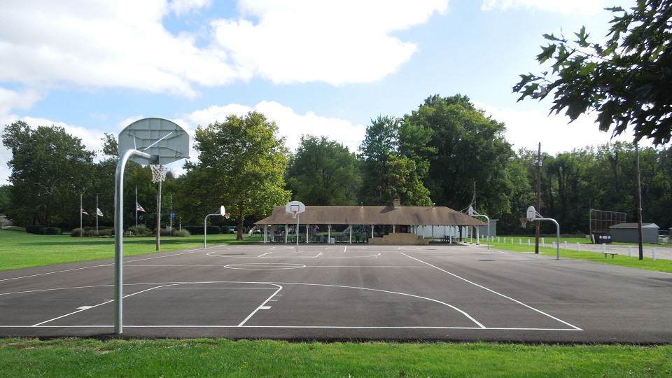 Victory Park Basketball Courts 2